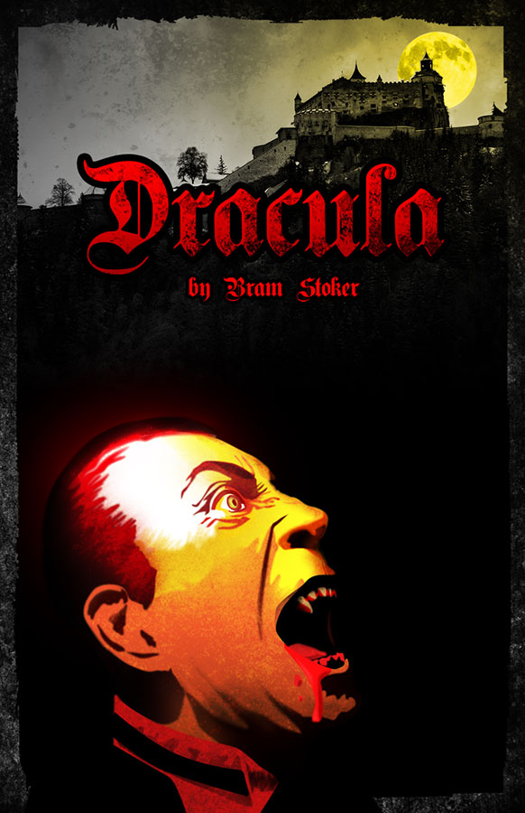 Book cover of Dracula written by Bram Stoker
