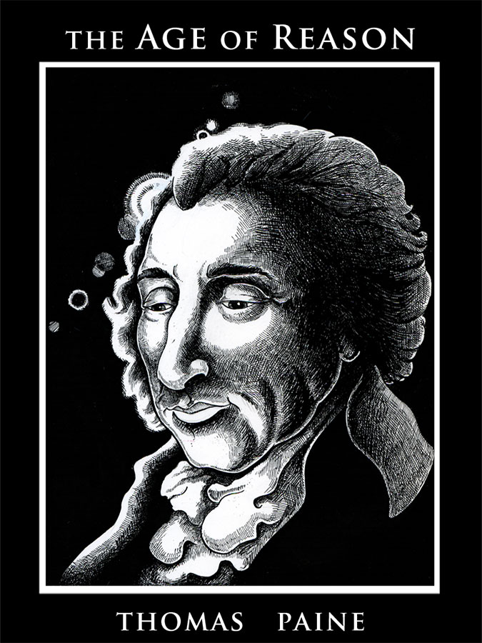 Book cover of The age of reason written by Thomas Paine