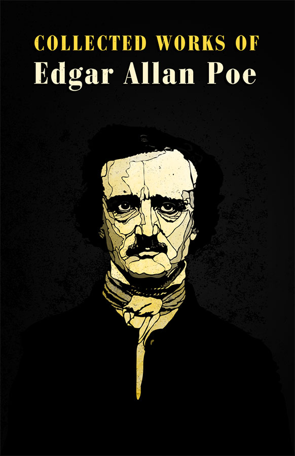 Book cover of Collected works of Edgar Allan Poe