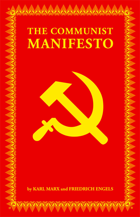 Book cover of The Communist Manifesto written by Karl Marx