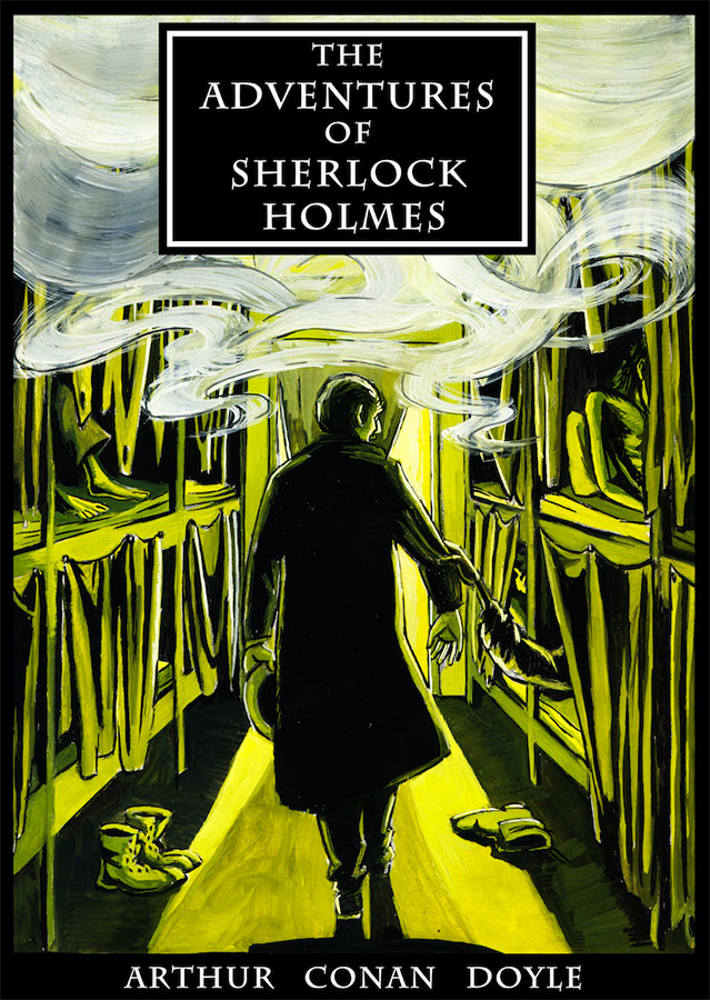 Book cover of The adventures of Sherlock Holmes written by Arthur Conan Doyle