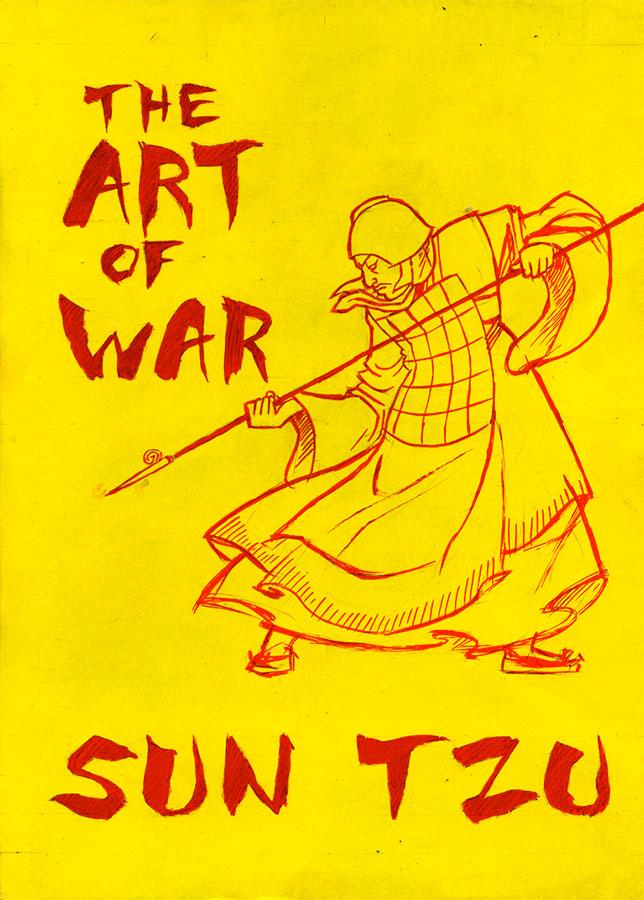 Book cover of The Art of War written by Sun Tzu